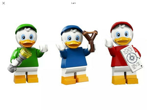 LEGO Disney Series 2 Minifigures HUEY DEWEY LOUIE DUCK TALES SEALED packs 71024