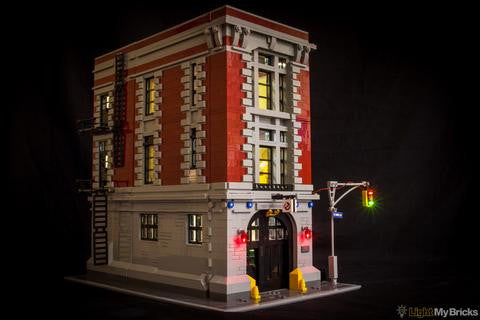 Ghostbusters Firehouse Headquarters Lighting Kit For Lego 75827