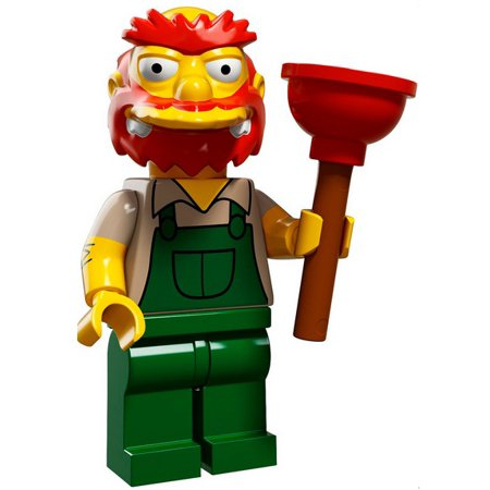 LEGO The Simpsons Simpsons Series 2 Groundskeeper Willie Minifigure [Loose]