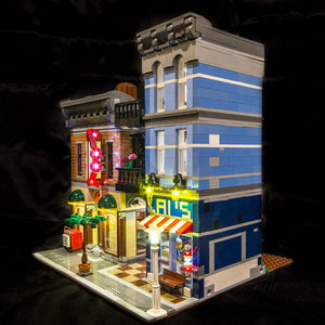 Detective's Office Lighting Kit for Lego 10246 (Lego set not included) by Light My Bricks