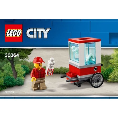 LEGO City Popcorn Cart Mini Set