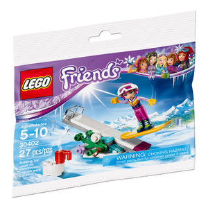 LEGO Friends Snowboard Tricks Polybag Set (27 Pieces)