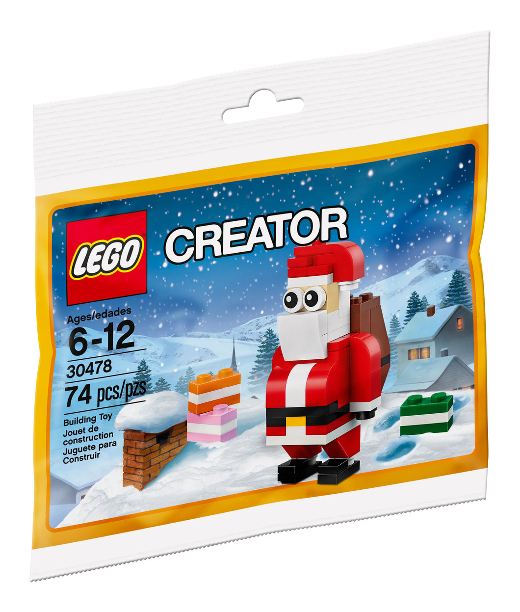 LEGO Seasonal Jolly Santa 30478