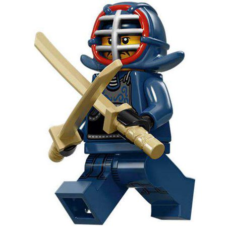 LEGO Series 15 Kendo Fighter Minifigure