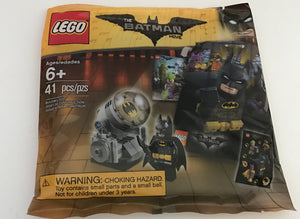 LEGO BATMAN MOVIE POLYBAG ACCESSORY PACK STICKERS MINI POSTER BAT SIGNAL 5004930