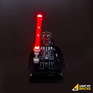 LED LEGO STAR WARS LIGHTSABER LIGHT-RED BY LIGHT MY BRICKS