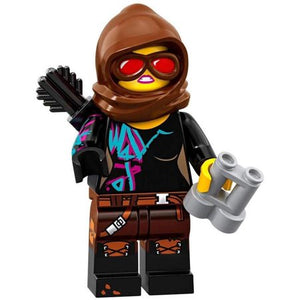 The LEGO Movie 2 Minifigures Series 71023 BATTLE-READY LUCY WYLDSTYLE minifigure
