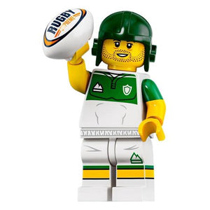 LEGO SERIES 19 RUGBY PLAYER MINIFIGURE 71025