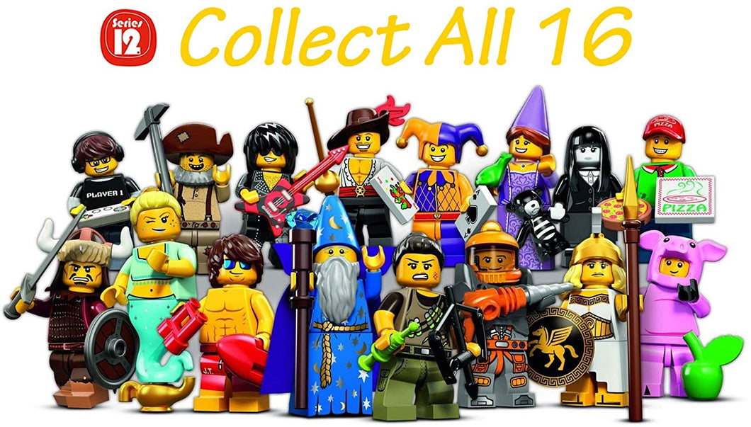 LEGO Series 12 Collectible Minifigures 71007 - Complete Set