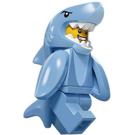 LEGO Series 15 Shark Suit Guy Minifigure [Left Shark]