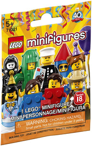 LEGO Minifigure Series 18: Party - 1 Figure Building Kit