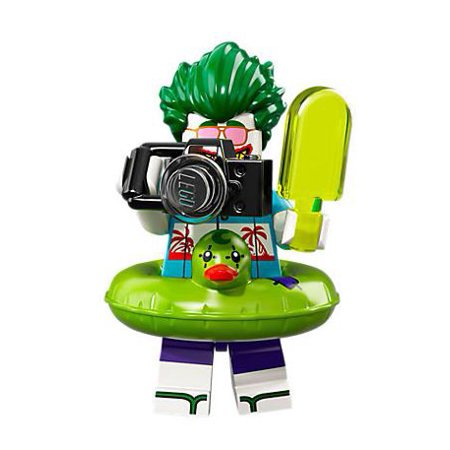 LEGO DC Series 2 Vacation Joker Minifigure [No Packaging]