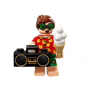 LEGO DC Series 2 Vacation Robin Minifigure [No Packaging]