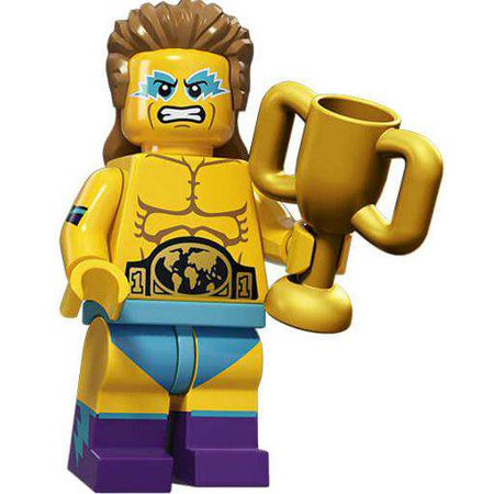 LEGO Series 15 Wrestling Champion Minifigure 71011