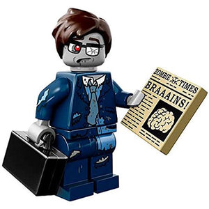 LEGO Minifigure Series 14 71010 HALLOWEEN MONSTERS - ZOMBIE BUSINESSMAN