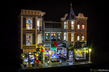 Assembly Square Lighting Kit for LEGO 10255 set (LEGO set is NOT included) by Light My Bricks