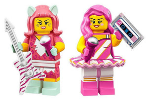 The LEGO Movie 2 Minifigures Series 71023 CANDY RAPPER AND KITTY POP GIRLS