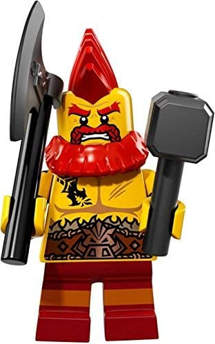 LEGO Collectible Minifigure Series 17 - Battle Dwarf 71018 FACTORY SEALED