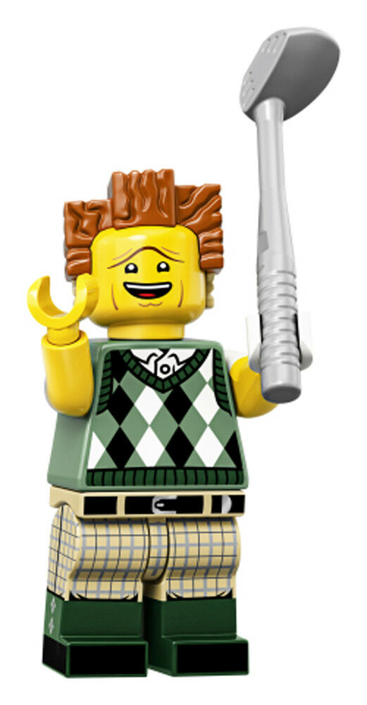 The LEGO Movie 2 Minifigure Series 71023 GONE GOLFIN' PRESIDENT BUSINESS