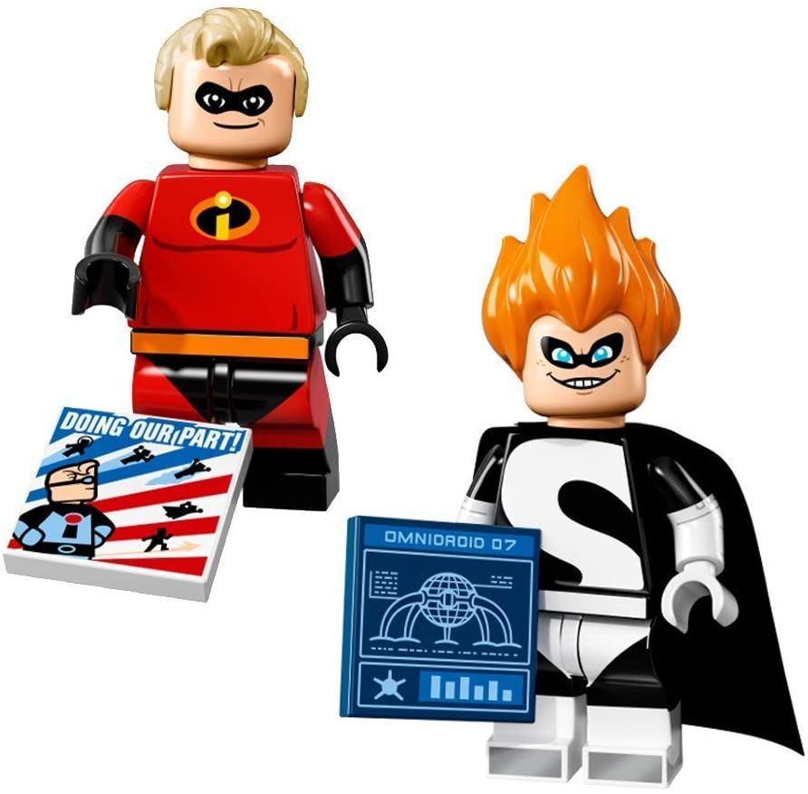 LEGO Disney Series Minifigures-Mr. Incredible and Syndrome 71012