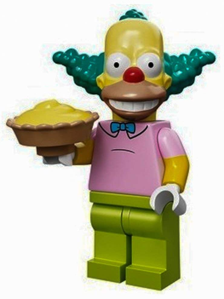 LEGO 71005 The Simpson Series Krusty The Clown Simpson Character Minifigures