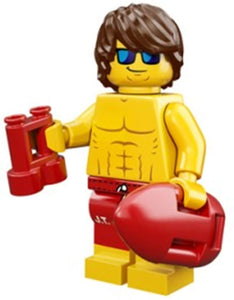 LEGO Male Lifeguard MINIFIGURE SERIES 12 71007