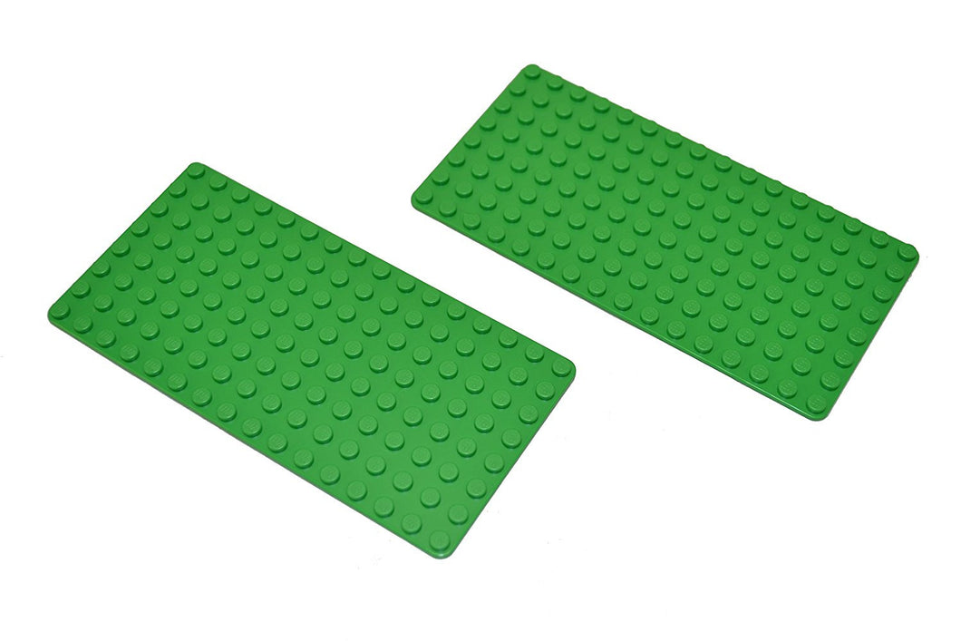 Lego 8x16 Stud Bright Green Baseplate