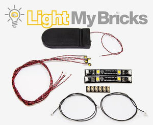 STARTER KIT - MIXED LIGHT (6 LIGHTS) By Light My Bricks
