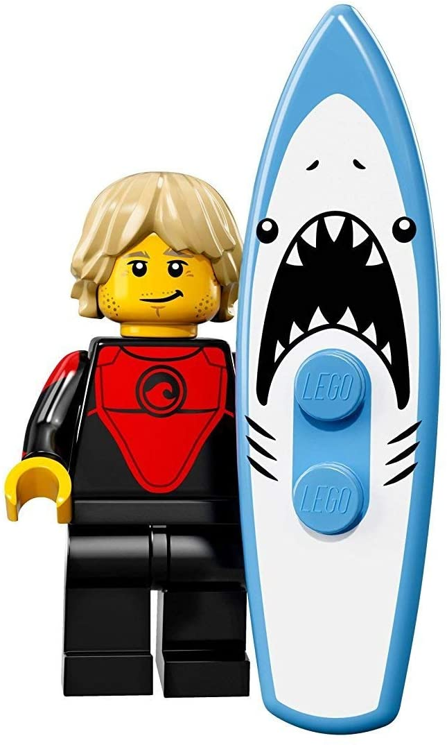 LEGO Collectible Minifigure Series 17 - Pro Surfer 71018 FACTORY SEALED