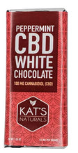 Kat's Naturals - Peppermint White Chocolate Bar