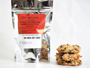 Coconut Chocolate Chip Cookie (3 ct)