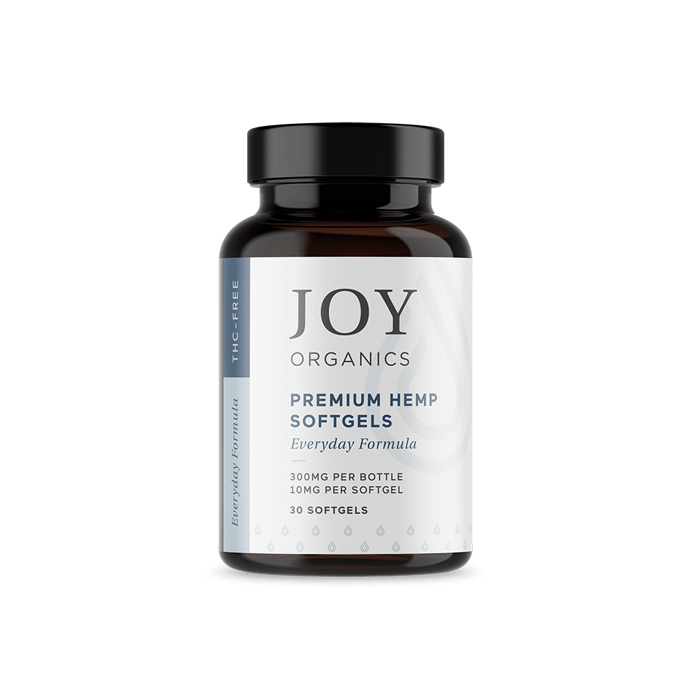 Joy Organics CBD Softgels 10mg (30ct)