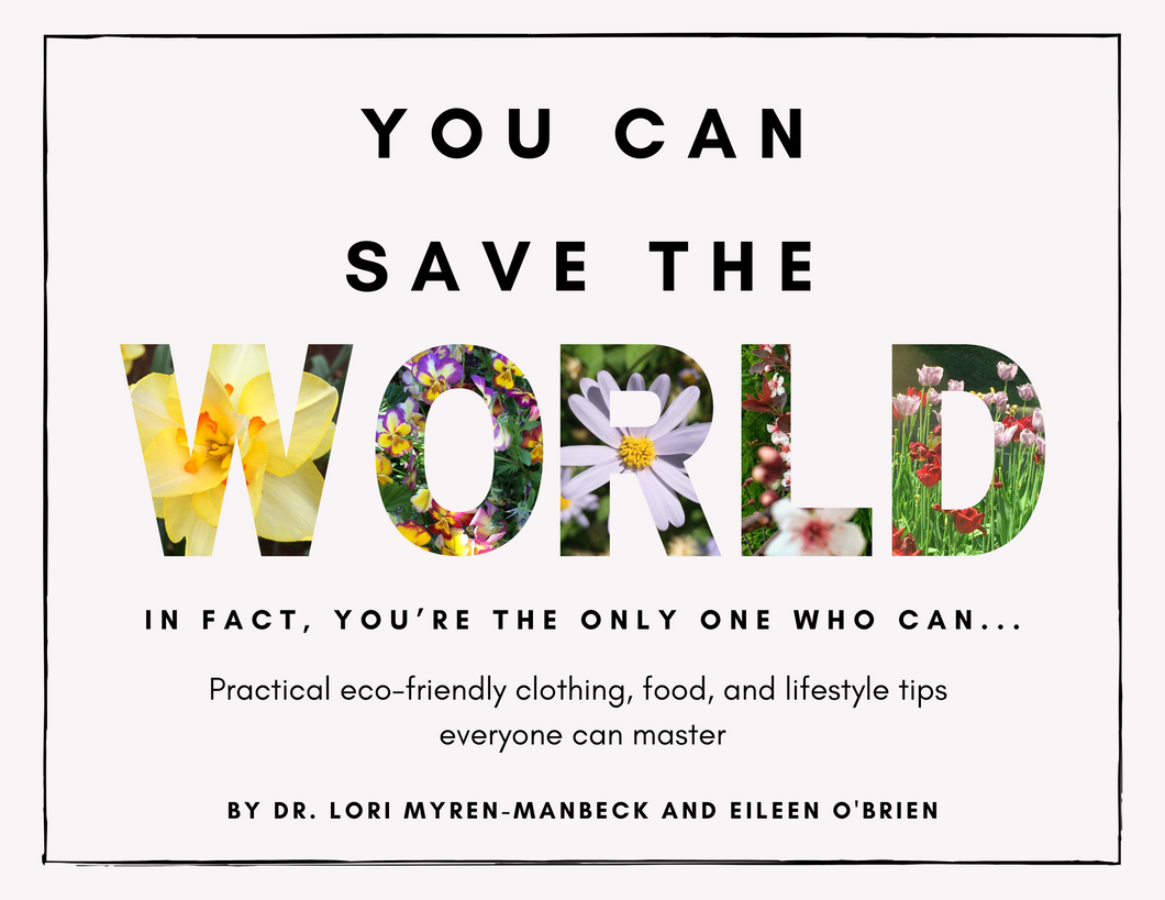 Pre-Order: You Can Save The World Book
