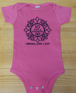 Ten Days of Kindness -  Baby Onesie