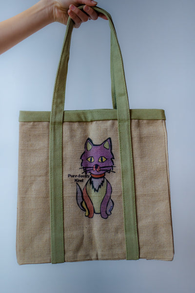 Limited Edition Cat or Dog Hemp Tote
