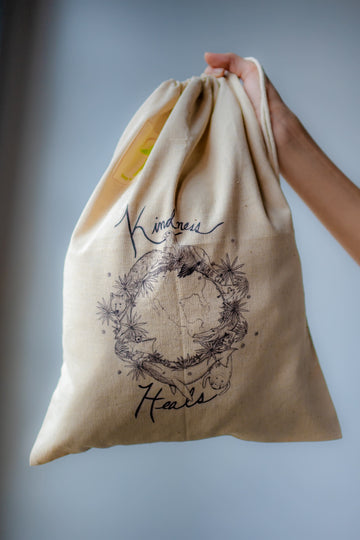 Hemp produce bag
