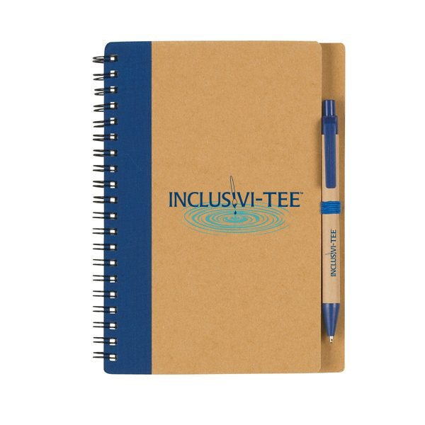 Inclusivi-tee Logo Notebook with Pen