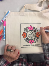 Load image into Gallery viewer, 10 Days of Kindness tote bag