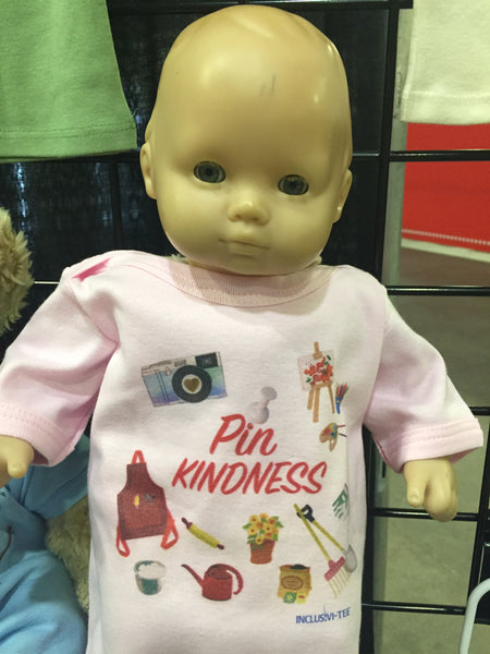 Pin Kindness Baby Shirt (Baby and Toddler)