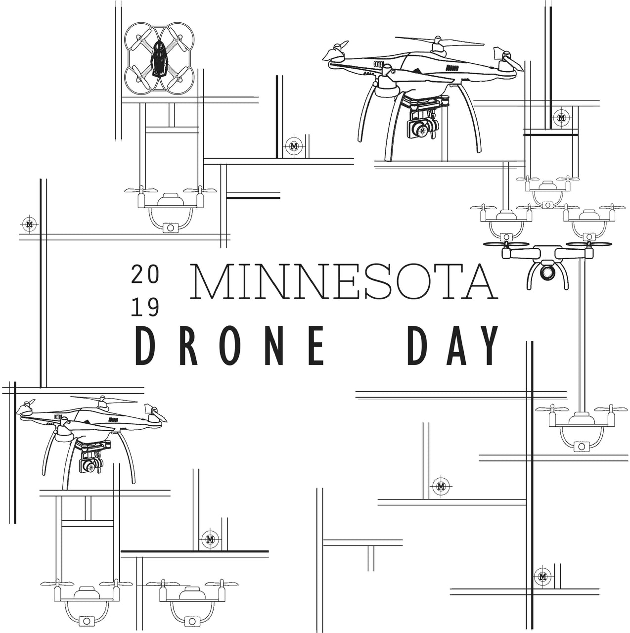 MN Drone Day, 2019 Poster