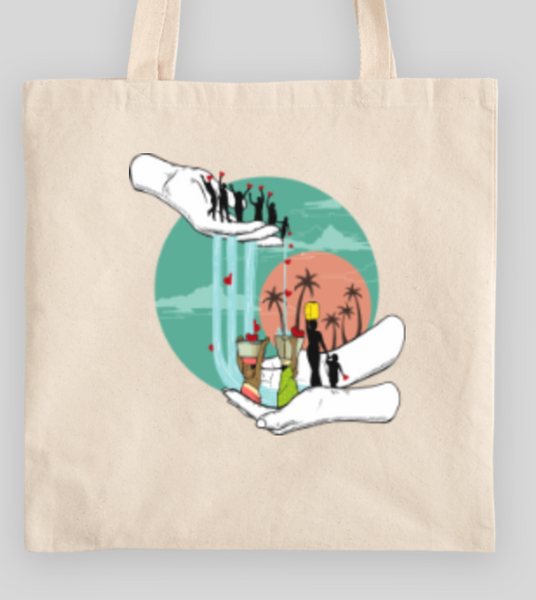 Artist's Social Justice Collection Light Totes