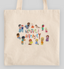 Beautiful Diversity Collection Light Totes