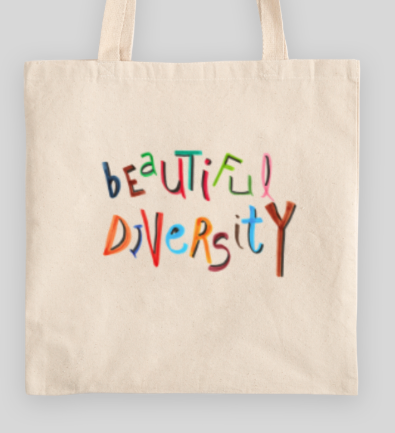 Beautiful Diversity Collection Heavy Totes