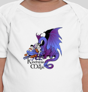 Kindness is Magic - Dragon (Baby)