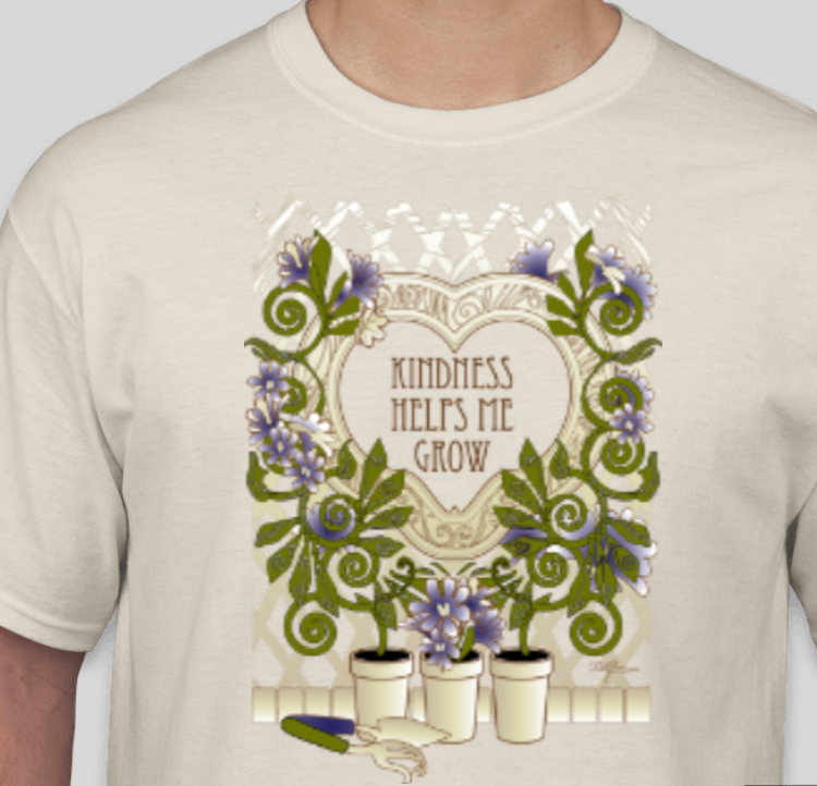 Kindness Helps Me Grow T-Shirt