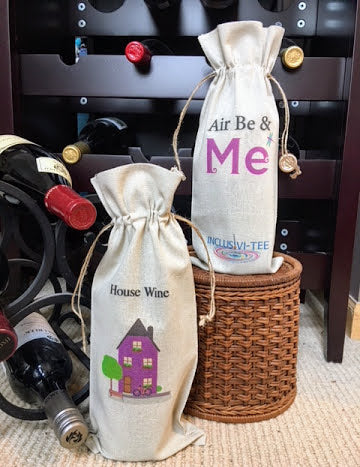 Air Be & Me Wine Bag