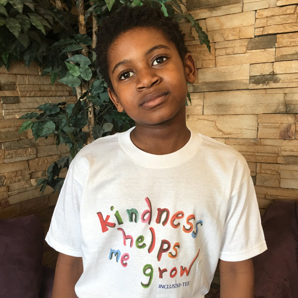 Kindness Helps Me Grow Child T-shirt