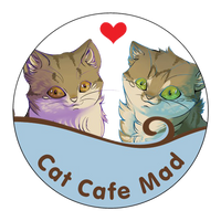 Continue to help Cat Cafe Mad expand or help the kitties.