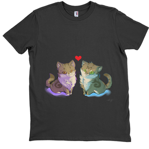 T-Shirts Duo Cats