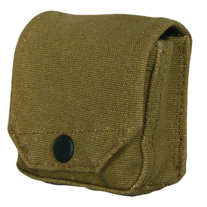 CANVAS COMPASS POUCH - OLIVE DRAB